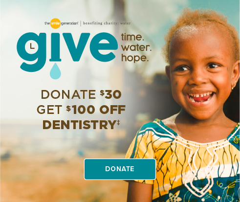Donate $30, Get $100 Off Dentistry - Katy Modern Dentistry and Orthodontics